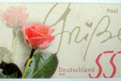 Briefmarken können Sie auch selbst gestalten.