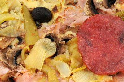 Pizza ist das Lieblingsessen der Deutschen.