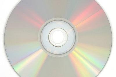 CD-Rohlinge eignen sich toll zum Basteln.
