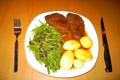 Vegetarische Schnitzel aus Tofu: köstlich!