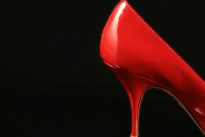 Auf High Heels laufen ist sexy.