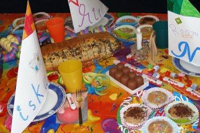 Geburtstag im Kindergarten feiern macht Spaß