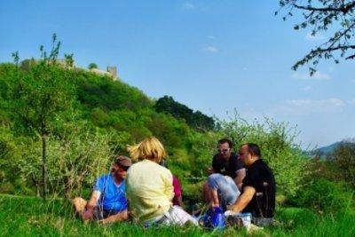 Macht Spaß: Ein Picknick an Pfingsten.