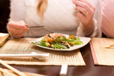 Gesunde Ernährung verschönt die Haut.