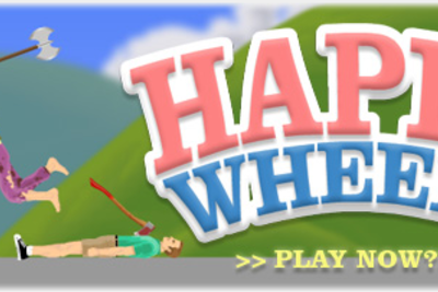 Happy Wheels ist relativ brutal.