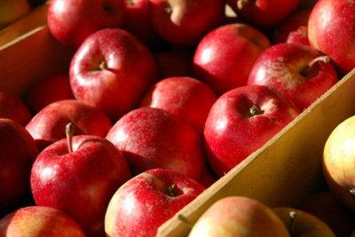 Selbst gemachter Apfelsaft schmeckt ausgezeichnet