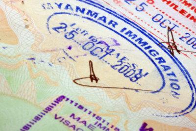 Asien verlangt einen Reisepass zur Einreise