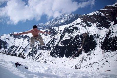 Wintersport ohne Winterjacke