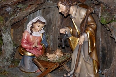 Weihnachten in Spanien - die Krippe ist das Hauptsymbol