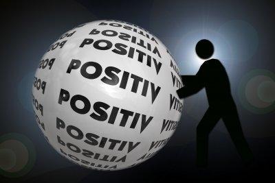 Positiv ist ein relativer Begriff.