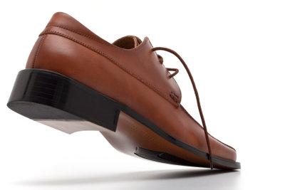 Neue Schuhe färben oft ab.