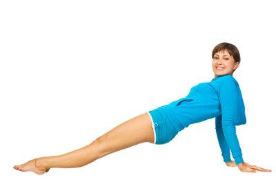 Die Oberschenkel kann man gezielt trainieren.