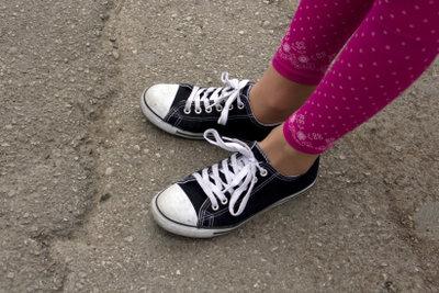 Barfuß in Sneakers?Warum nicht!