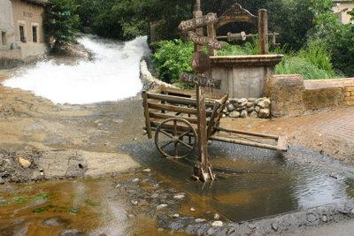 Die Flut kann reinigen oder zerstören.