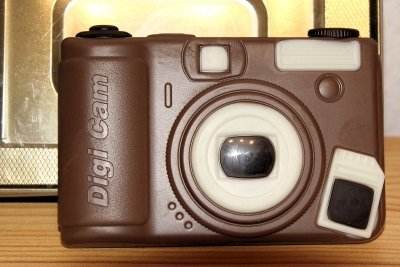 Speicherkarten werden in Kameras verwendet.