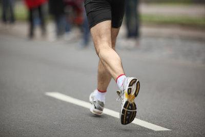 Fit und gesund durch walken.