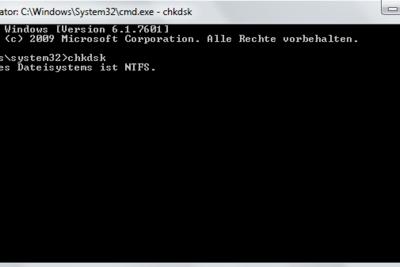 CHKSDK prüft Ihren USB-Stick.