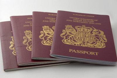 Jeder Reisepass hat eine Nummer.