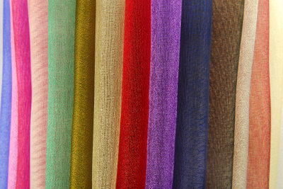 Vorhänge, die Farben zum Aussuchen