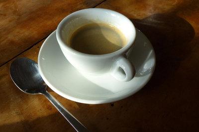 Zu viel Kaffee ist nicht gesund.