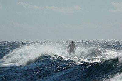 Wellenreiten macht Spaß