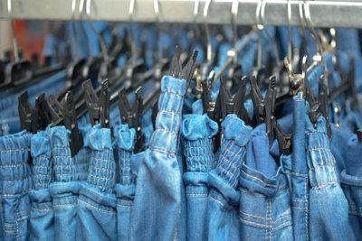 Jeans müssen richtig passen.