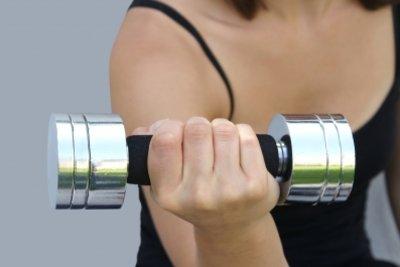 Auch ohne Geräte können Sie trainieren.