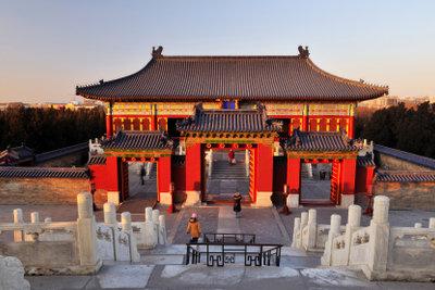 Beijing ist die Hauptstadt Chinas.