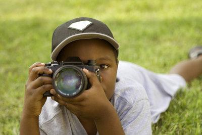 Fotografieren gefällt Groß und Klein.