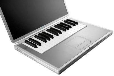 Mit Synthesia Klavier spielen.