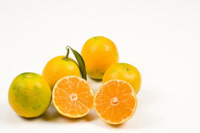 Zitrusfrüchte können zu Allergien führen.