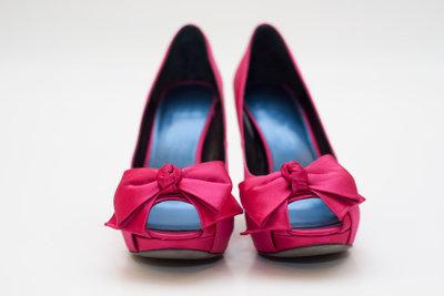 Zu guter Kleidung gehören passende Schuhe.