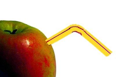 Apfelkonzentrat aus eigener Herstellung