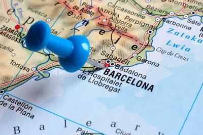 Thema einer Raumanalyse könnte Barcelona sein.