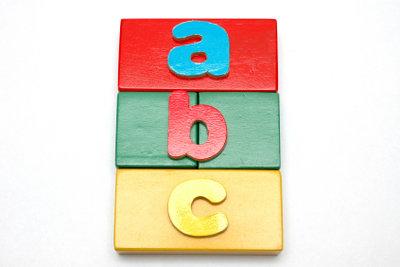 Lehren Sie Ihrem Kind das ABC