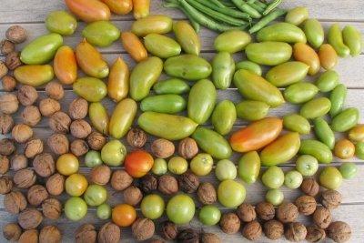 Bei Bohnanza werden Bohnen vermarktet.