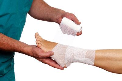 Prellungen sind häufige Verletzungen.