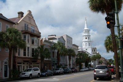 Namensgeber des Tanzes - die Stadt Charleston