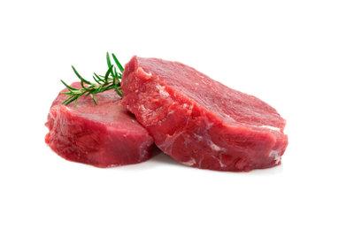 Rindfleisch kann eingefroren werden