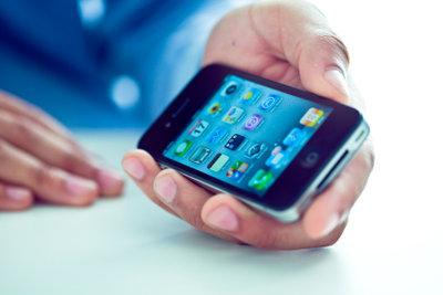 Moderne Handys unterstützen Apps.