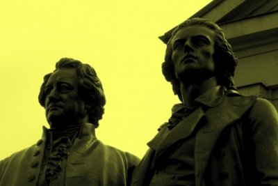 Goethe und Schiller und ihre Balladen