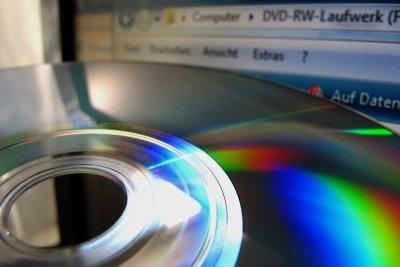 DVDs können in Minuten erstellt werden.