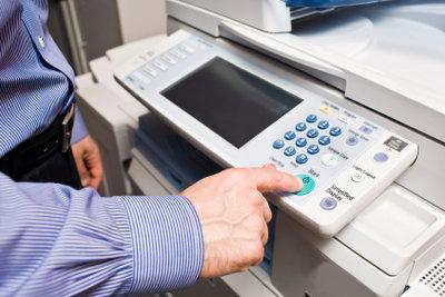 Netzwerkdrucker sparen Kosten und Mühe.
