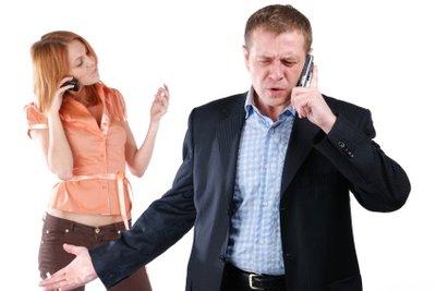 Ehekonflikte können nervenaufreibend werden.