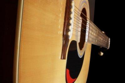 Eine Gitarre muss man regelmäßig stimmen.