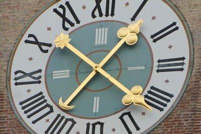 Die Uhrzeit bestimmt den Erfolg.
