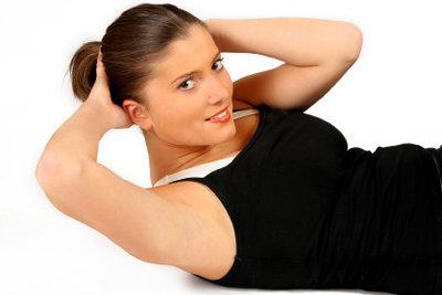 Trainieren Sie auch die unteren Bauchmuskeln!