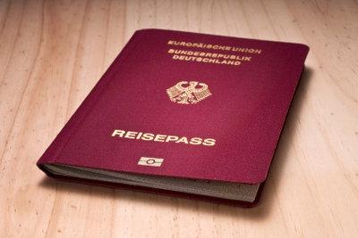 Oft benötigen Sie einen Reisepass.