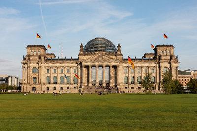 Der Reichstag - Hier werden Gesetze gemacht.