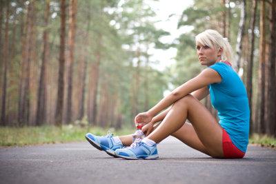 Müde Beine nach dem Sport?